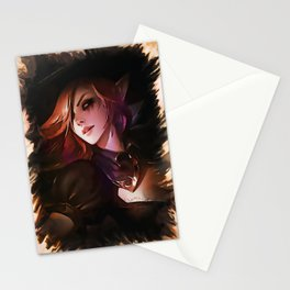 League of Legends BEWITCHING MORGANA Stationery Cards