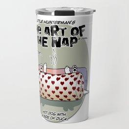 Little Hunterman - The Art of the Nap (Hot Dog) Travel Mug