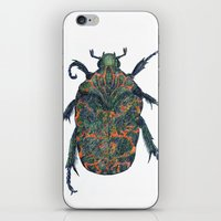 beetle iPhone & iPod Skins featuring Beetle by MSRomeiro
