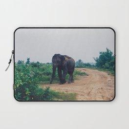 Elephant in Udawalawe National Park, Sri Lanka Laptop Sleeve