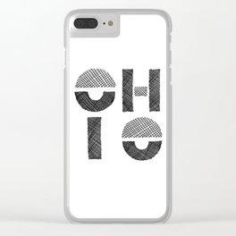 Ohio Clear iPhone Case