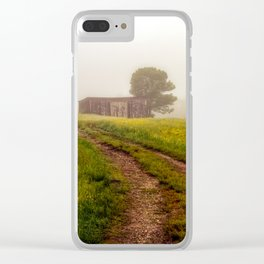One Room Country Shack Clear iPhone Case