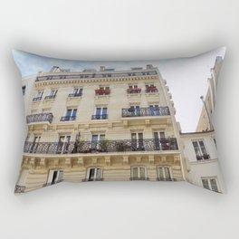 Paris France Downtown Rectangular Pillow