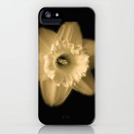 Sad Daffodil iPhone Case