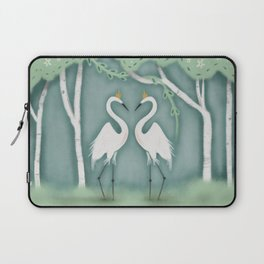 The Crane Princesses Laptop Sleeve