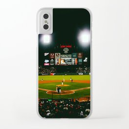 San Francisco Stadium Giants Clear iPhone Case