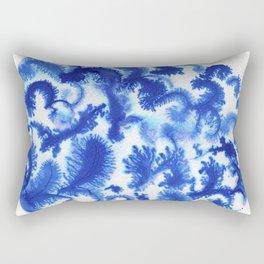 Blue culture Rectangular Pillow