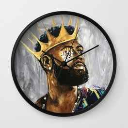 Naturally King III Wall Clock