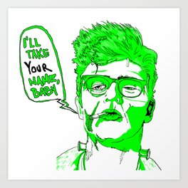 Uncle Frank Art Print