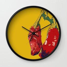 Chillis (o) Wall Clock