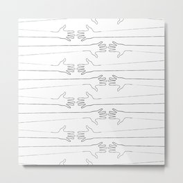 Pattern40 Metal Print