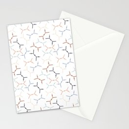 Compton scattering Feynman diagrams on White Stationery Cards