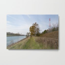 Sturgeon Bay Canal Metal Print