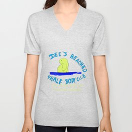 Dee' Beached Whale Body Club Unisex V-Neck