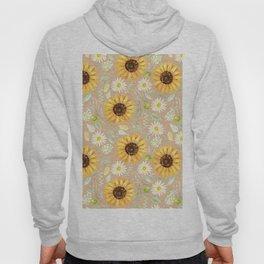 Sunflowers | Watercolor | Pattern  Hoody