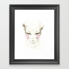 Cheeks! Framed Art Print