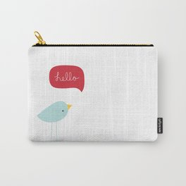 Hello Birdie Carry-All Pouch