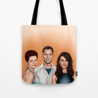 allison argent Tote Bags featuring Argent Family Photo - San Francisco, 2010 by xKxDx