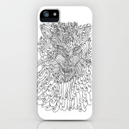 The Way of Wolf iPhone Case