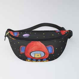 Impossible Astronaut Fanny Pack