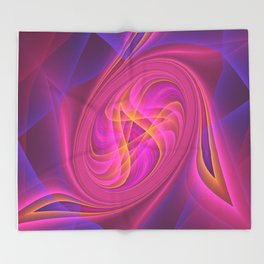 Turbo Charger Throw Blanket