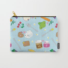 Kawaii Happy Snacks Toss Carry-All Pouch
