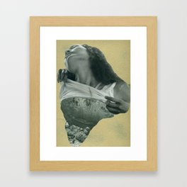 Gold is God. 1. Framed Art Print