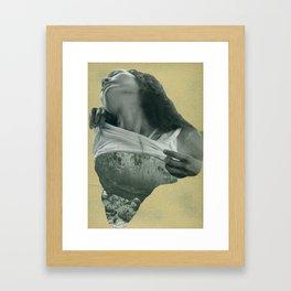 Gold is God. 1. Framed Art Print