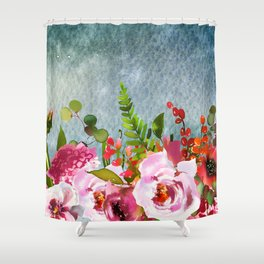 Flowers bouquet 91 Shower Curtain