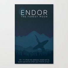 Star Wars Endor Canvas Print