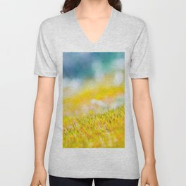 Colorful sprouts Unisex V-Neck