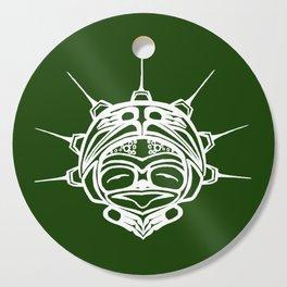 Spirit Frog Grass Cutting Board