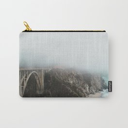 Bixby Bridge in the Fog Carry-All Pouch