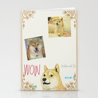 doge Stationery Cards featuring Wow Doge by Akin Enthusiasts
