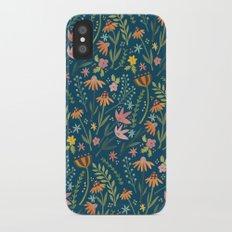 Wild Flower iPhone X Slim Case