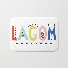Lagom colors Bath Mat