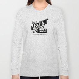 Starlite Drive-In Niagara Falls in Blue Long Sleeve T-shirt
