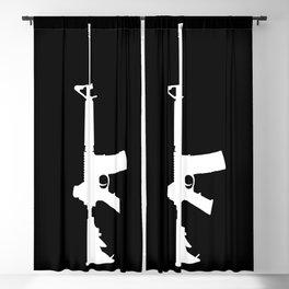 AR-15 (on black) Blackout Curtain
