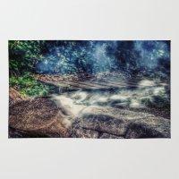 smoke Area & Throw Rugs featuring Smoke by Geni