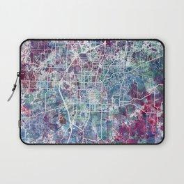 Fayetteville map Arkansas Laptop Sleeve
