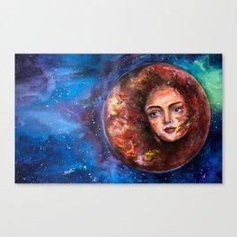 Venus, Planet of Fire Canvas Print