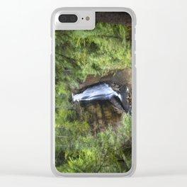 Miners Falls, Munising, Michigan. Clear iPhone Case