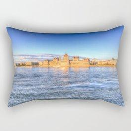 Budapest Sunset Rectangular Pillow