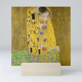 The Kiss, 1908-1909 by Gustav Klimt Mini Art Print