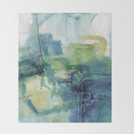 Tao Of Healing No.57E by Kathy Morton Stanion Throw Blanket