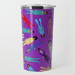 Purple Pattern 2 Travel Mug