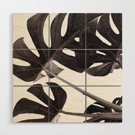 The Greenery 1 Wood Wall Art