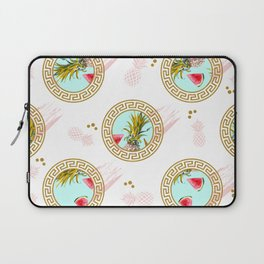 Aztec Fruit Pattern Laptop Sleeve