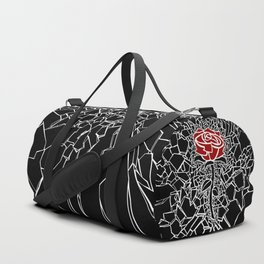The Shattered Rose Duffle Bag
