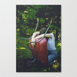Wheelbarrow II Canvas Print